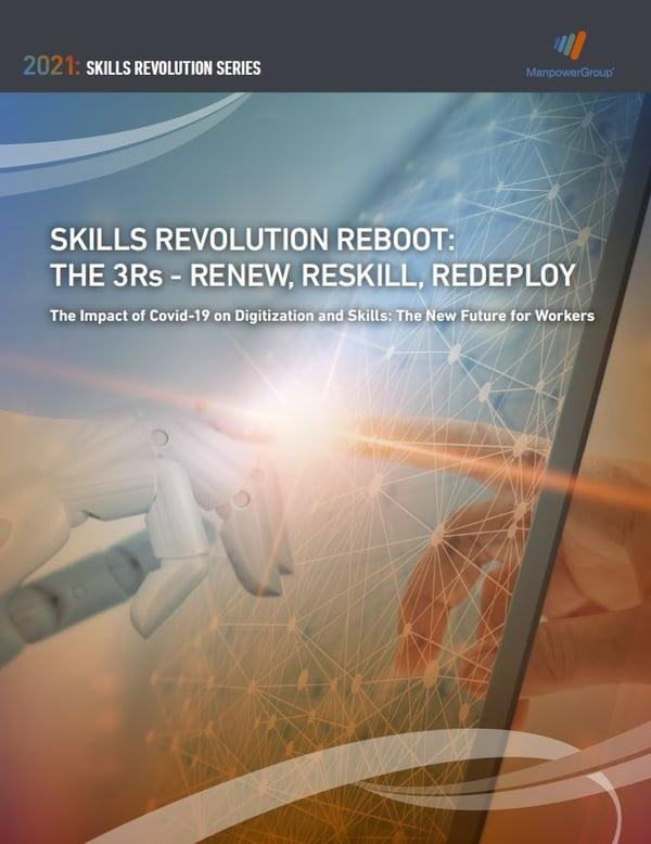 Lue tutkimus: Skills Revolution Reboot: The 3Rs - Renew, Reskill & Redeploy - Manpower