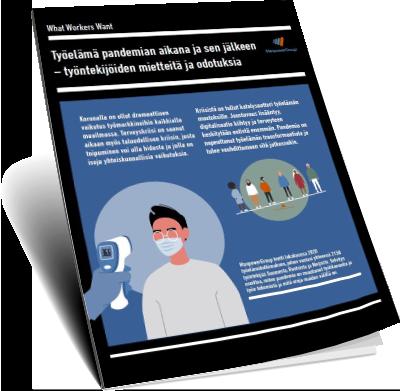 Lue tutkimus: Työelämä pandemian aikana ja sen jälkeen - työntekijöiden mietteitä ja odotuksia