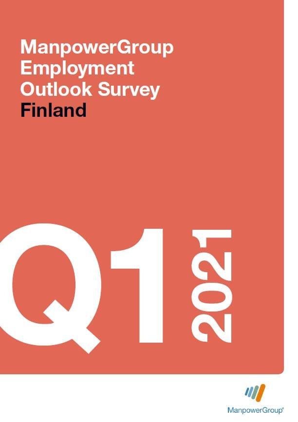 Työmarkkinabarometri 2021 Q1 | ManpowerGroup